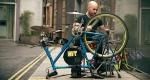 batteria su una bicicletta